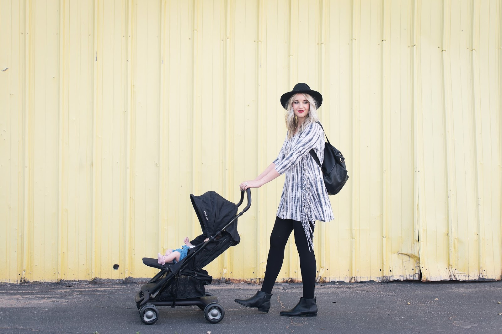 NUNA Stroller, Fawn Design Diaper Bag, Utah Fashion Blogger