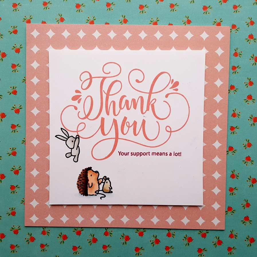 Joyful Things Design Thank You Your Support Means A Lot 1