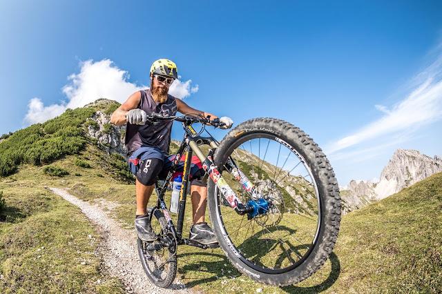 mountainbike tour reither spitze reith bei seefeld trail
