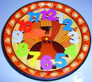 http://learningideasgradesk-8.blogspot.com/2013/11/turkey-time-paper-plate-clock.html