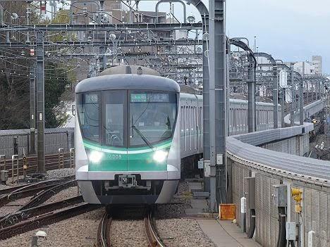 【ダイヤ改正で新設】16000系の準急 北綾瀬行き