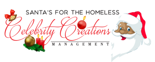Santa's for the Homeless Campaign held by Celebrity Creations Management for the street homeless in Newham