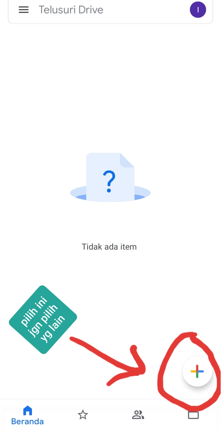 cara simpan video ke google drive