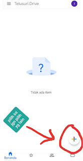 cara simpan video ke google drive
