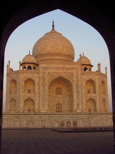 Taj Mahal, Agra; Indie