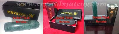 Cara Mudah Membedakan Crystal X Asli dan Palsu
