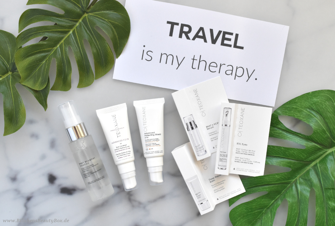 Reise Essentials & Must Haves - Teoxane Pflegelieblinge