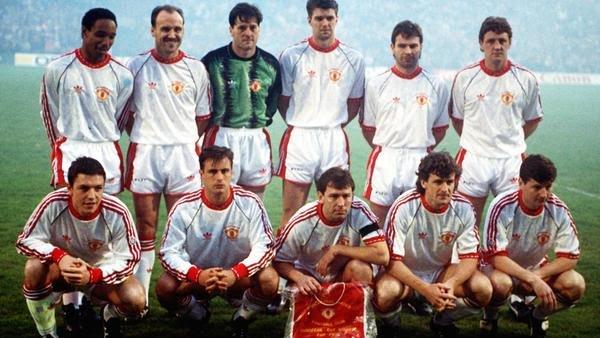 Em 1991, United conquistou a Recopa européia