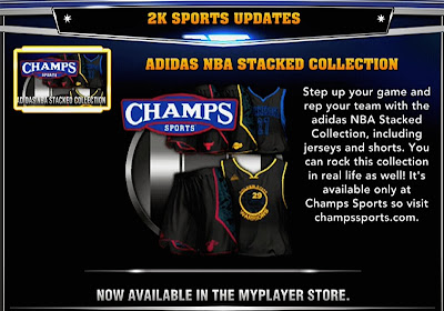 NBA 2K14 My Player Store . Adidas NBA Stacked Collection