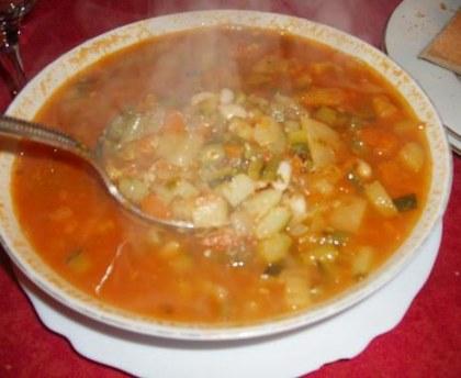 Pistou soup - the authentic