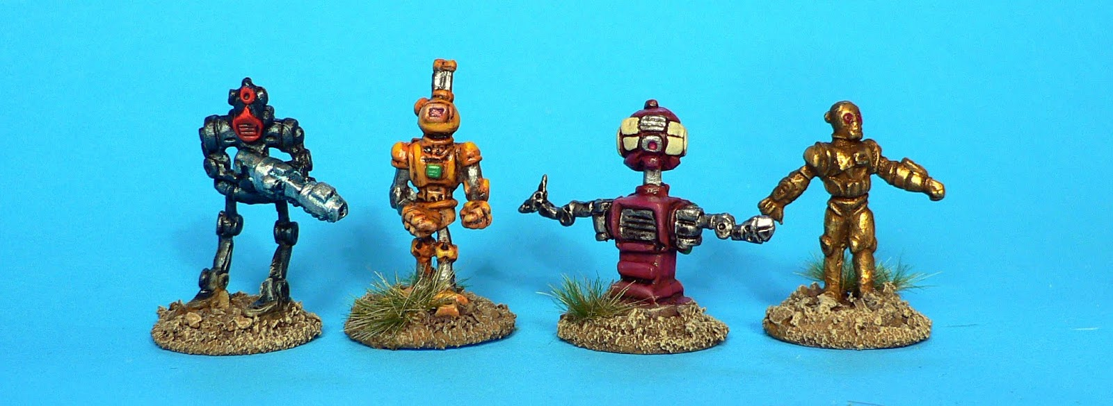 Dr  The Viking's Miniature Games Hell: Retro Robots