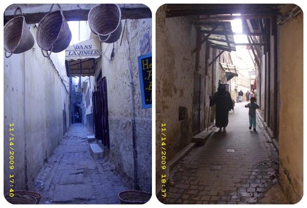 strazi-centrul-istoric-fes-maroc