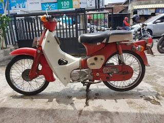 Jual Motor Antik Honda Puspita C50