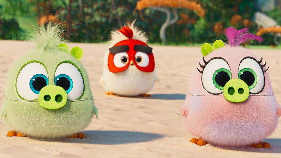 Angry Birds Movie 2, Zoe, Vincent, Samantha, 4K, #25