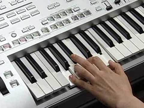 A guide to fingering styles on the Yamaha Tyros 5 | Tyros Tipsters