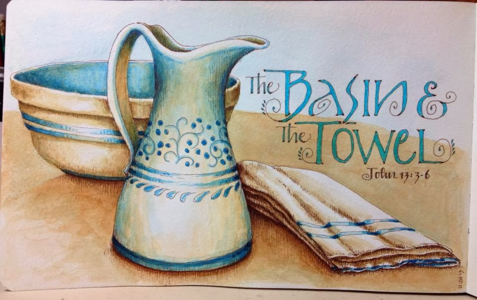 Worth Drawing: The Basin and the Towel