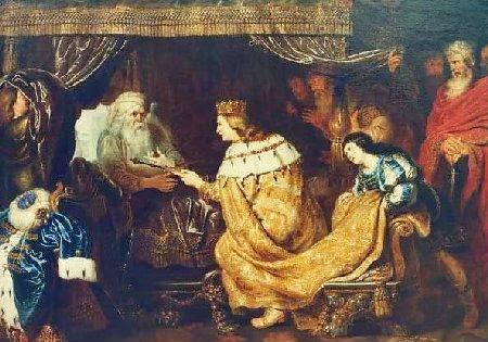 דוד ממליך את שלמה