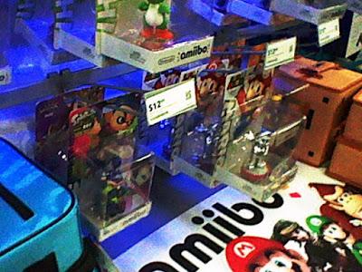 Inkling Boy amiibo on display Best Buy