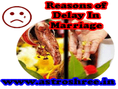delay in marriage astrology by astrologer