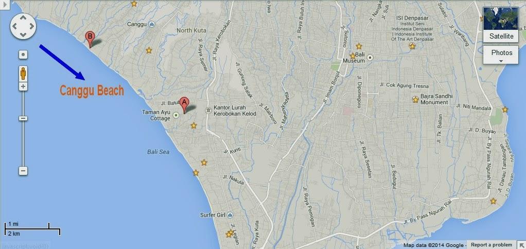 Bali Weather Forecast and Bali Map Info Detail Canggu