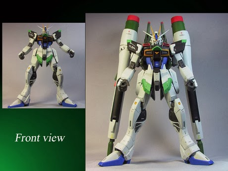 Custom Build: MG 1/100 ZGMF-X56S / γ Blast Impulse Gundam Conversion
