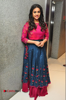 Actress Keerthi Suresh Stills at Remo Success Meet  0180.JPG