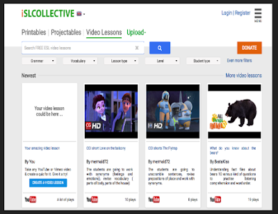 ISLCollective- Easily Create ESL Popup Quizzes from YouTube Videos
