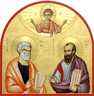 Αποτέλεσμα εικόνας για Άγιοι Αποστόλοι Πέτρος και Παύλο