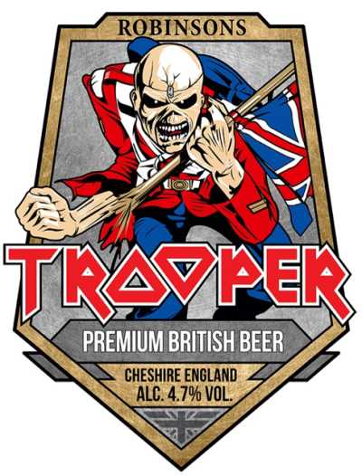 Trooper beer - Iron Maiden