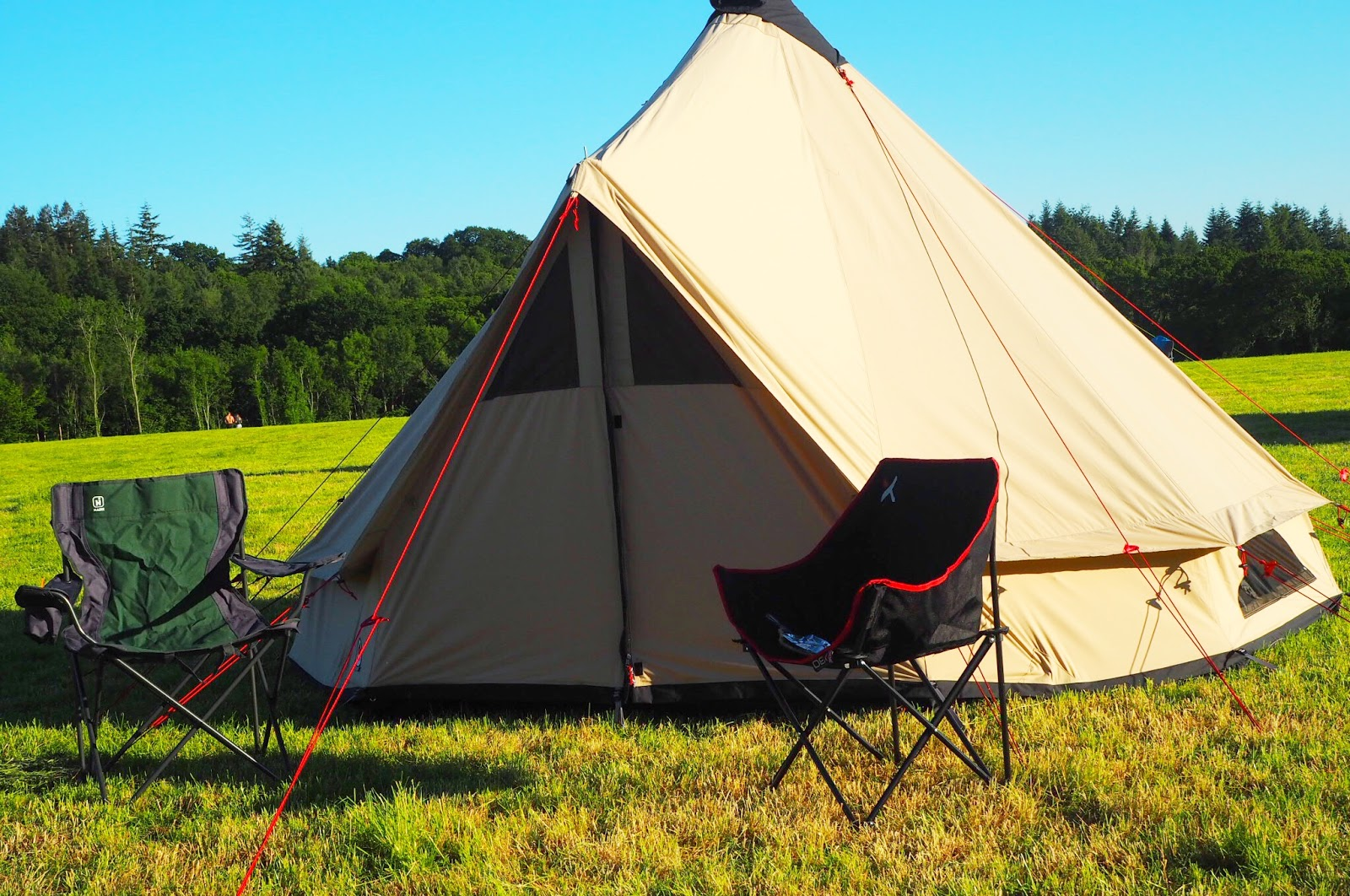 camping in the Kent countryside with GO Outdoors