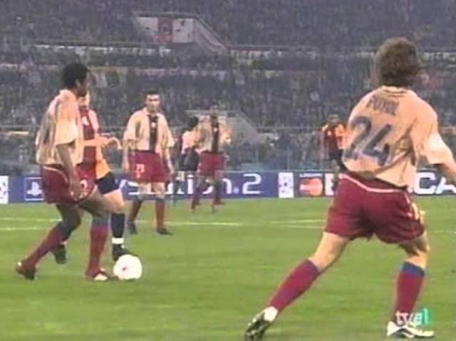 Barca vs Roma 2001