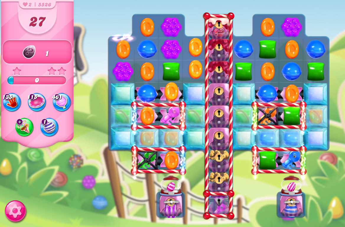 Candy Crush Saga level 5526