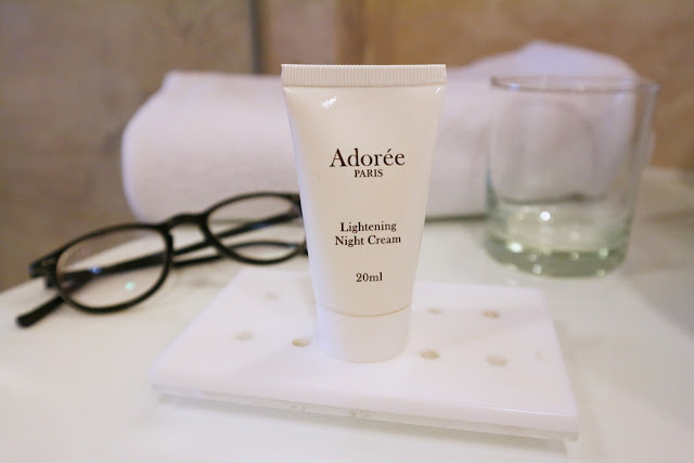 Adorée Paris Lightening Night Cream Packaging