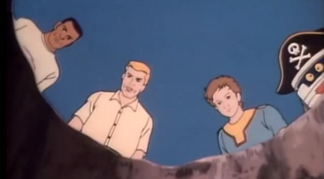"""M.A.S.K. Episode 45 """"Spectre of Captain Kidd"""""""