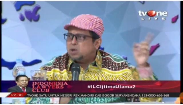 Gaya Ceplas Ceplos Ustadz Haikal di ILC, Bikin Kubu Pendukung Jokowi Mlipir