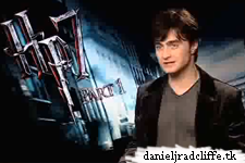 Harry Potter and the Deathly Hallows part 1 press junket interviews