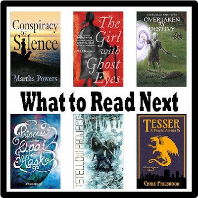 Don't know what to read next? Check out these great reads from my wish list.  I haven't read them all yet, so I can't vouch for them, but they certainly look good.  If you read any of them first, please let me know what you think.