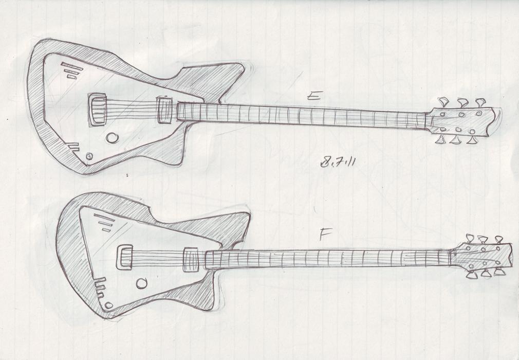gUitarREN: more sketches