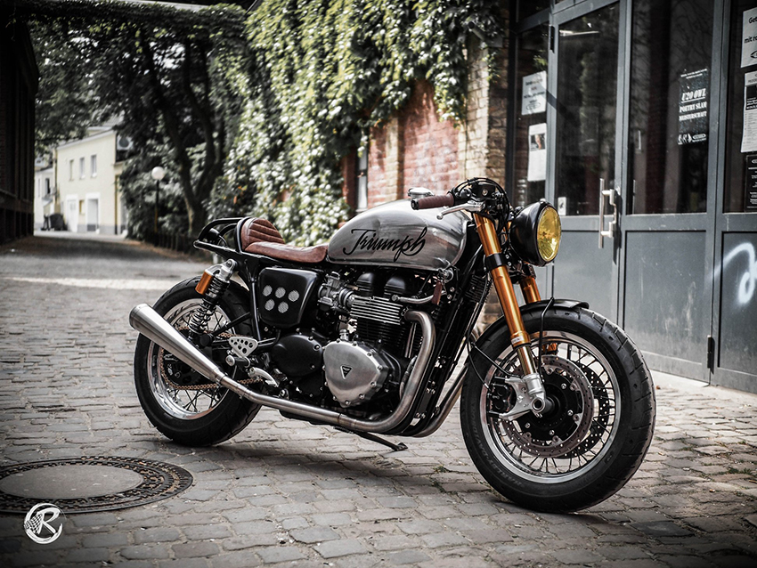Triumph 900| Raisch Custom Motorcycles