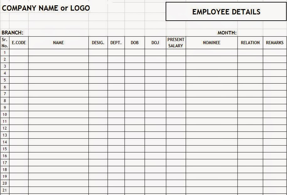 Production Plan Part 2 Xls File Excel About Employee Details Format In Excel