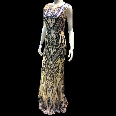 Maxi φόρεμα με εντυπωσιακή πλάτη