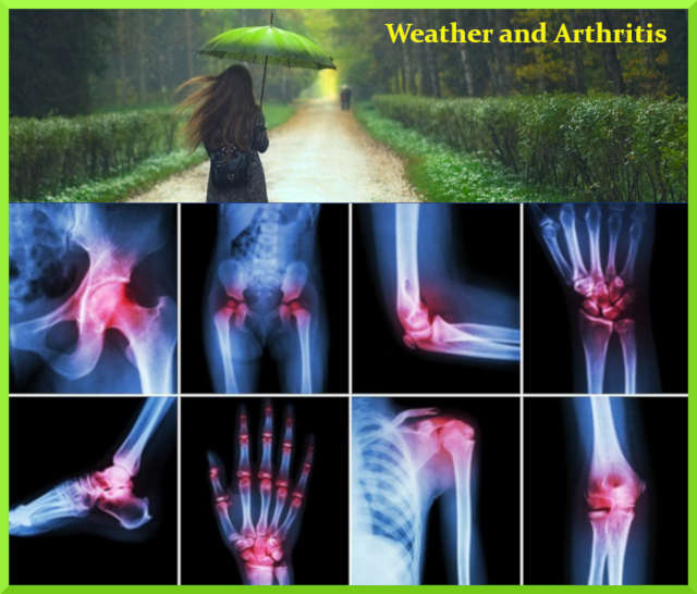 #Health : Does weather affect arthritis pain?