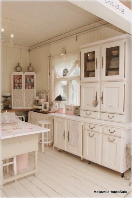 Shabby In Love Romantic Shabby Kitchen