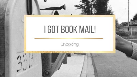 Book Mail Unboxing #BookBlogger #Booktuber
