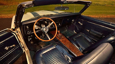 1969 Pontiac Trans AM Ram Air IV Interior cabin