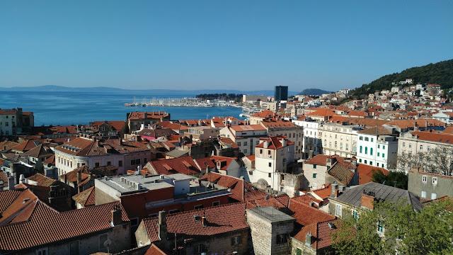 Split vieille ville bons plans croatie vacances été 2017
