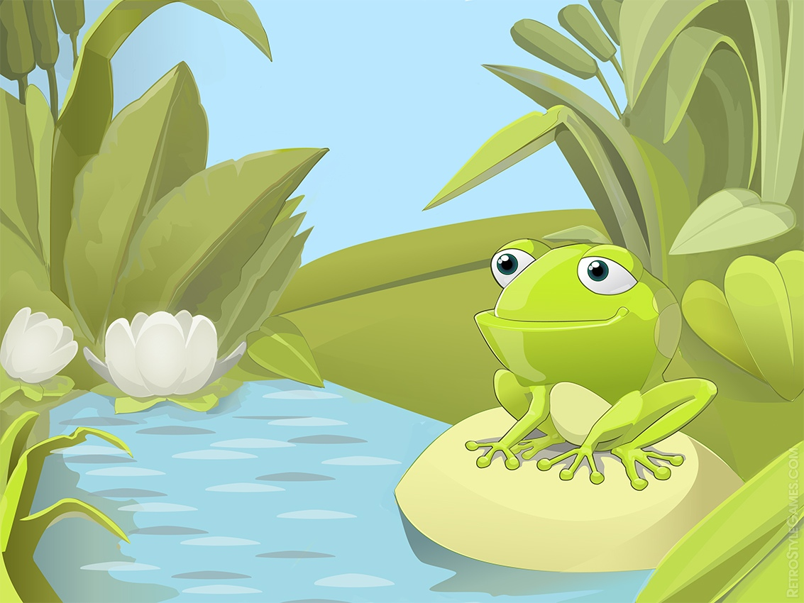 Angeligeorgia - Frog cartoon wallpaper ...