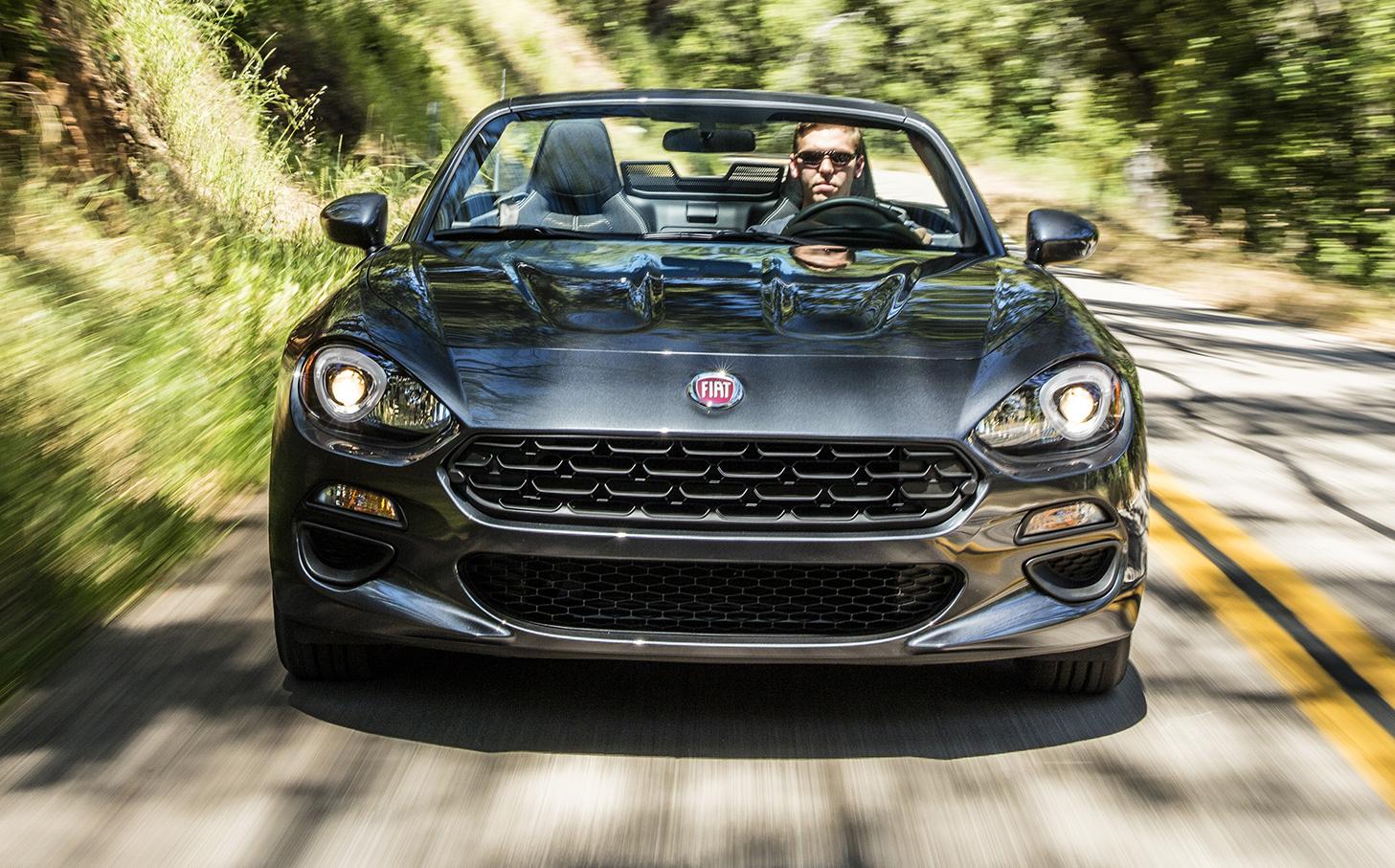 2018 Fiat 124 Spider Model Changes  Fiat 500 Usa
