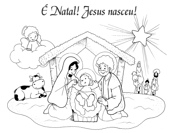 kerststal kleurplaat vector kidkleurplaat nl