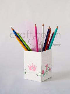 μπομπονιερα-βαπτισης-μολυβοθηκη-κουτι-κοριτσι-κορωνα-πριγκιπισσα-λουλουδια-χειροποιητη